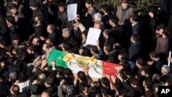 哈桑沙特里星期四在德黑蘭下葬