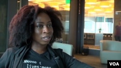 Bukola Akinfaderin argues for diversity in the tech world: 'When you're building a product – especially if it's a consumer-facing product, one that's international – you are going to need perspective from everyone.' (VOA)