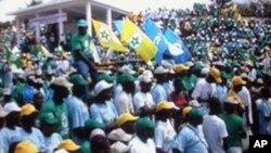 Sao Tome, campanha eleitoral 2010 (arquivo)