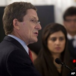 美國負責巴基斯坦和阿富汗事務的特使馬克‧格羅斯曼