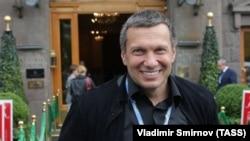 Телеведущий Владимир Соловьёв