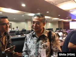 Kepala Lembaga Biologi Molekuler Eijkman , Prof. Amin Soebandrio menyatakan bahwa Indonesia sudah mempunyai alat untuk mendeteksi virus Corona, di Kantor Staff Kepresidenan , Jakarta, Kamis (6/2) (Ghita)