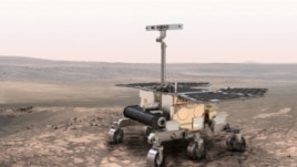 A drawing of European Space Agency's ExoMars Rover