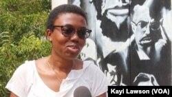 Faridah Esso Ouro-Doni, Lomé, le 13 novembre 2019. (VOA/Kayi Lawson)