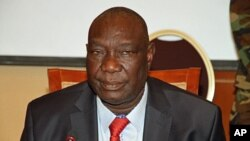 Michel Djotodia, président centrafricain