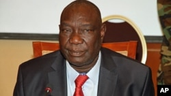 Michel Djotodia, the rebel leader who declared himself president in Bangui, Central African Republic, (File photo).