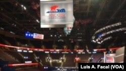 El Quicken Loans Arena de Cleveland está listo para la Convención Nacional Republicana.