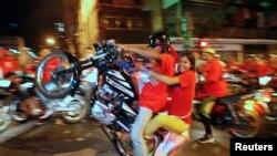 Motociclista en Venezuela: Un estudio de la OPS señala que se han triplicado los accidentes de moto.