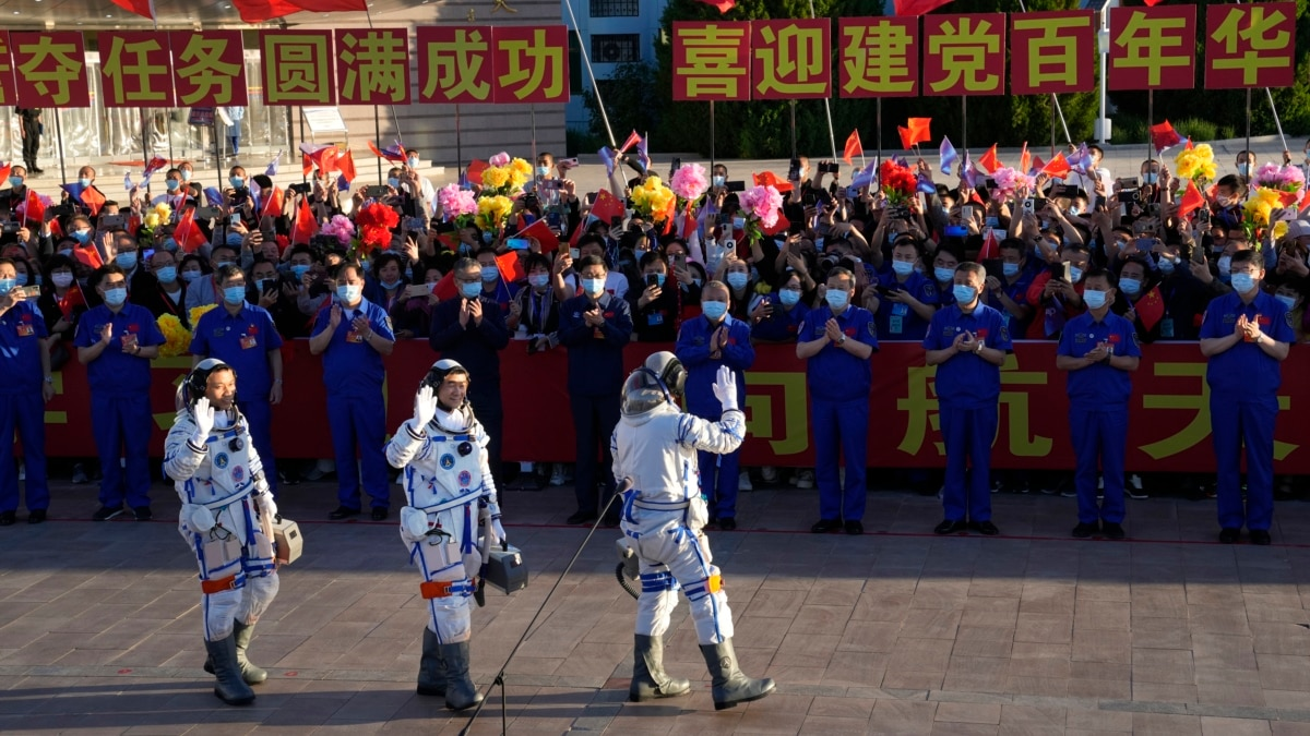 Tiga Astronaut Tiba di Stasiun Antariksa Permanen Baru China