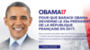 A French group is trying to get former president Obama to run for office in France.