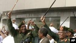 Tổng thống Sudan President Omar al-Bashir nói miền nam chỉ có thể hiểu được ngôn ngữ của 'súng đạn'
