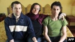 Архив: трое американских туристов, осужденных в Иране