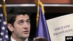 """Dân biểu Paul Ryan, nói rằng cần phải cắt giảm theo dự án để nước Mỹ """"tiến vào con đường phồn vinh thực sự"""