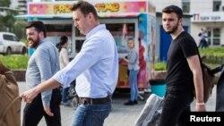 Алексей Навальный и Руслан Шаведдинов