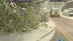 2011-10-30 美國之音視頻新聞: 美東部份地暴風雪造成兩百萬人斷電