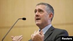 美國聖路易斯聯邦儲備銀行行長詹姆斯·布拉德(James Bullard)(資料照片 2018年10月)