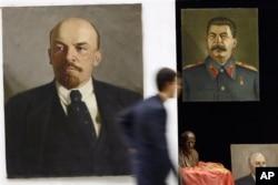 列宁和斯大林像