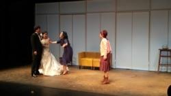 남북 관계를 남녀 간의 사랑으로 묘사한 연극 '두 코리아의 통일'