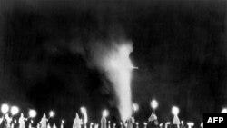 Собрание Ку-клукс-клана в штате Северная Каролина. 8 августа 1964 года