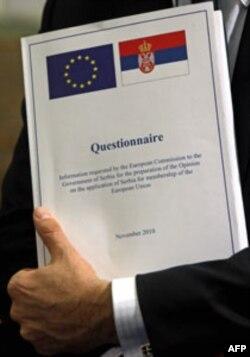 Srpska administracija pripremila je odgovore na više od 80 odsto pitanja