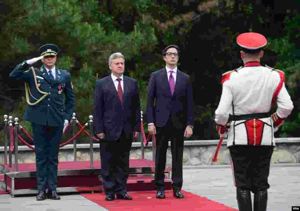 Inauguration of the president Stevo Pendarovski and Ivanov in villa Vodno 2