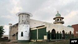 Mosquée moko na Beni, Nord-kivu, 20 octobre 2014.
