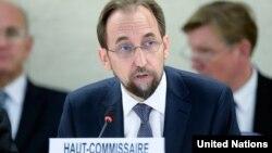 Верховный комиссар ООН по правам человека Зейд Раад аль Хуссейн