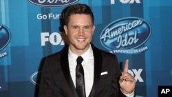 """Trent Harmon fue el ganador de la última temporada de """"American Idol""""."""