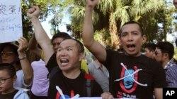 越南國內曾經因中國在有爭議海域設置鑽井平台,發生連串抗議中國事件。
