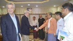 ကုလ ဒုကၡသည္ဆိုင္ရာအႀကီးအကဲ ရခိုင္ျပည္နယ္ေရာက္ရိွ