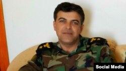 Muqedim Îdrîs Şaaban Berpisê Rêxistina fermanda Duhok ya Hêzên Pêşmergên Kurdistan