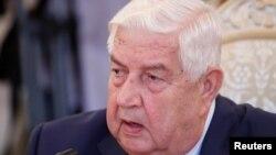 Suriye Dışişleri Bakanı Velid Muallim BM'de konuştu