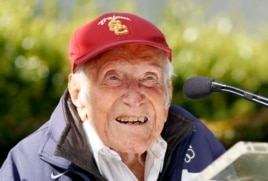 In May, Louis Zamperini was named the 2015 Rose Parade grand marshal.