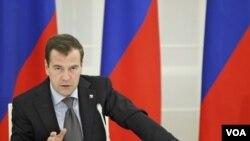 El presidente ruso también dijo que esperaba que Barack Obama fuera reelegido en 2012.