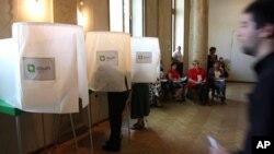 Gruziyada parlament saylovlari, 1-oktabr, 2012-yil.