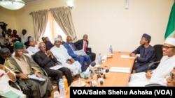 Buhari transition team, Abuja, April 29, 2015.