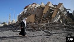 Srušene su brojne zgrade u gradu Gazi