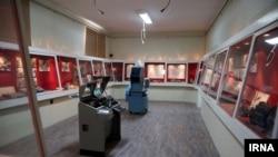 بخشی از ساختمان سفارت سابق آمریکا در تهران که به موزه تبدیل شده است