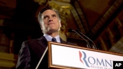 美國共和黨總統候選人參選者米特•羅姆尼