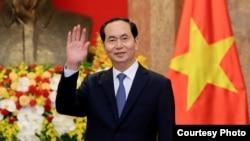 越南国家主席陈大光2018年3月23日参加一个活动