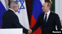 Биньямин Нетаньяху и Владимир Путин. Москва, Россия. 7 июня 2016 г.