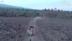 RDC: Abaturage Bakomeje Guhunga Umujyi wa Goma Batinya Iruka ry'Ikirunga