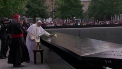 Pope Focuses on Healing During New York Stop