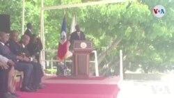 Ayiti: Diskou Prezidan Jovenel Moïse nan Okasyon 24èm Anivèse Polis nansyonal la