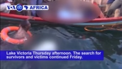 VOA60 Africa - Scores Dead in Tanzania Ferry Sinking