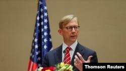 برایان هوک، نماینده وزارت خارجه آمریکا در امور ایران