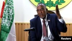 Rais wa Somaliland Muse Bihi Abdi