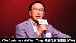 自由黨榮譽主席田北俊 (攝影:美國之音湯惠芸)