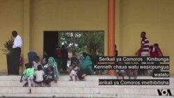Athari za kimbunga Kenneth Comoros