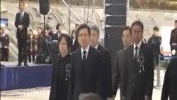 南韓紀念延坪島遭北韓炮擊事件死難者